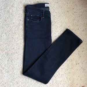 Abercrombie dark wash skinny jeans